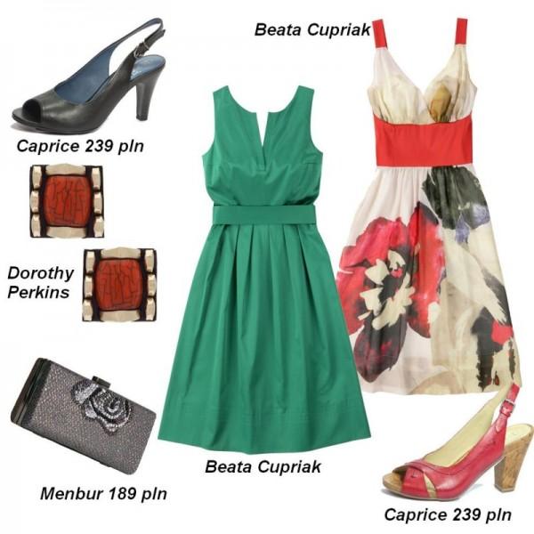 Sukienki na wesele dla mamy, teściowej i cioci - stylizacje
